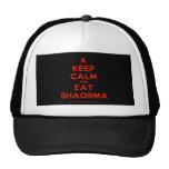 [Campfire] keep calm and eat shaorma  Hats