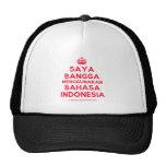 [Crown] saya bangga menggunakan bahasa indonesia  Hats