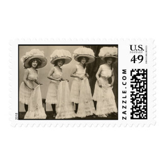 Hats and Petticoats Postage
