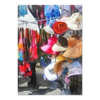 Hats and Purses at Street Fair Card