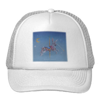 Hats, Caps - Carousel Rabbit Trucker Hat
