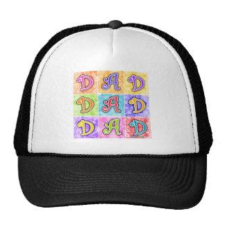 Hats, Caps - DAD Pop Art Trucker Hat