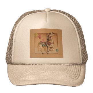 Hats, Caps - Happy Horse Carousel Trucker Hat