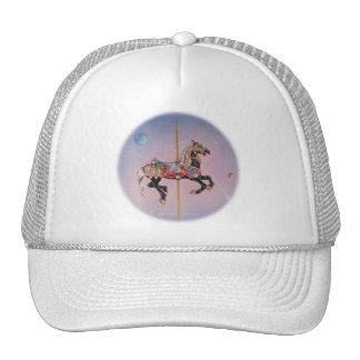 Hats, Caps - Petaluma Carousel Horse 1 Trucker Hat