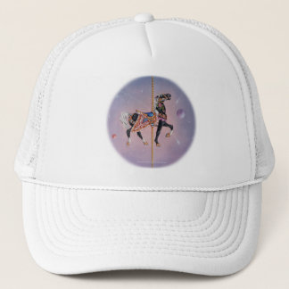 Hats, Caps - Petaluma Carousel Horse 2