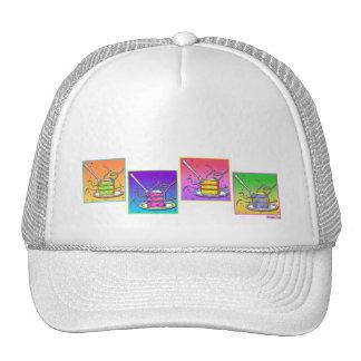 Hats, Caps - Pop Art Cake Trucker Hat