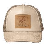 Hats, Caps - Purple Pony Carousel