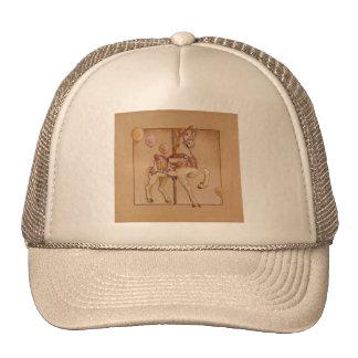 Hats, Caps - Purple Pony Carousel Trucker Hat