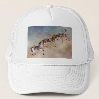 Hats, Caps - Three Carousel Horses