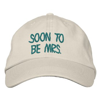 Hats Custom  Embroidered Design by CREATIVEWEDDING at Zazzle