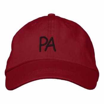 Hats Custom  Embroidered Design Baseball Cap by creativeconceptss at Zazzle