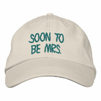 Hats Custom  Embroidered Design Embroidered Hat by CREATIVEWEDDING at Zazzle