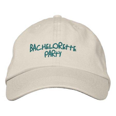 Hats Custom  Embroidered Design Wedding