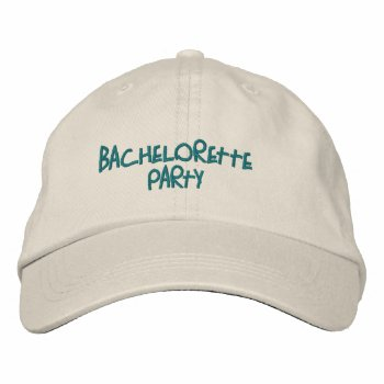Hats Custom  Embroidered Design Wedding Baseball Cap by CREATIVEWEDDING at Zazzle