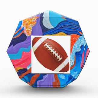 Hats Football Acrylic Award
