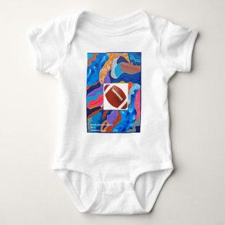 Hats Football Baby Bodysuit