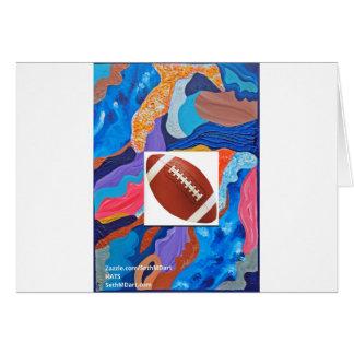 Hats Football Card