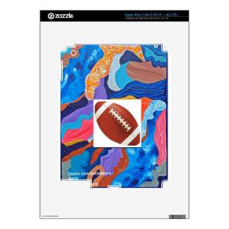 Hats Football iPad 3 Skin