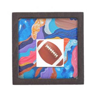 Hats Football Jewelry Box