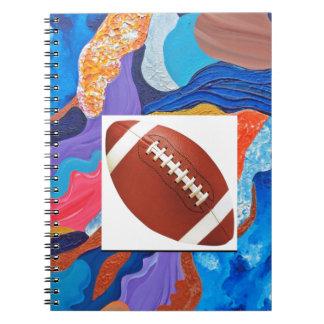 Hats Football Notebook