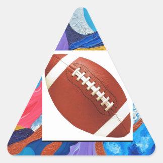 Hats Football Triangle Sticker