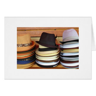 Hats for Sale Card