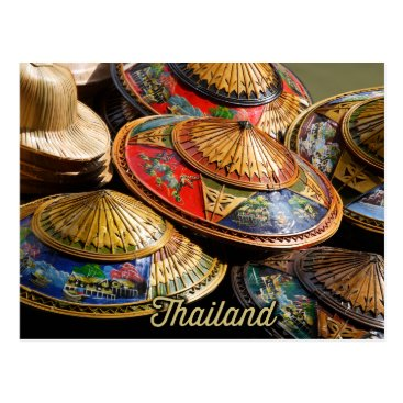 sumners hats from thailand postcard