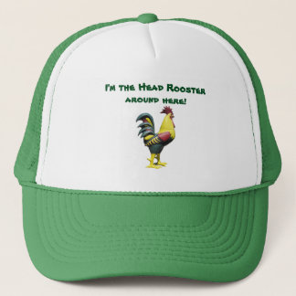 Hats Head Rooster