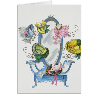 Hats in The Hallway Card