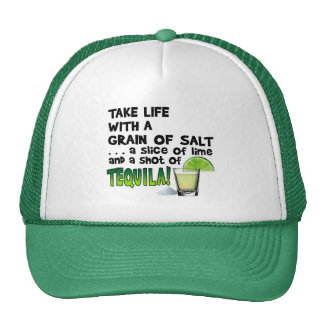 HATS - LIFE, LIME, SALT, TEQUILA!