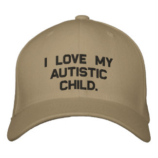 Hats off to Autism Embroidered Baseball Cap