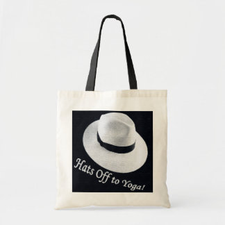 Hats off to Yoga Tote Bag