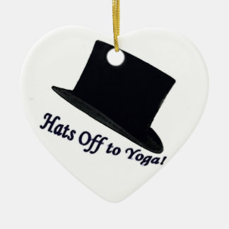 Hats Off to Yoga Ornament