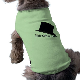Hats Off to Yoga Shirt