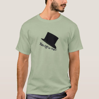 Hats Off to Yoga T-Shirt