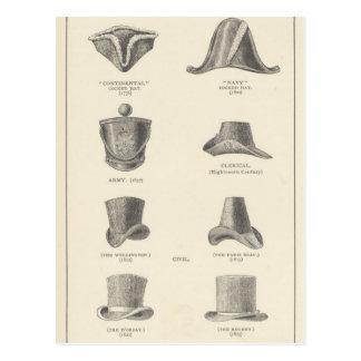 Hats Postcard