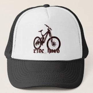 Hats Ride Hard bike logo