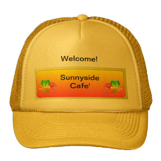Hats, Sunnyside colors