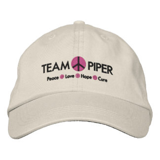 HATS - Team Piper Embroidered Baseball Cap