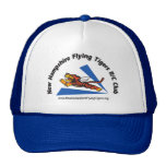 Hats with NH Flying Tigers logo