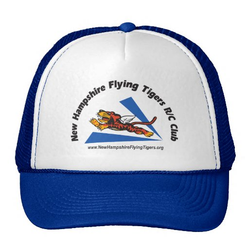 Hats with NH Flying Tigers logo   Zazzle
