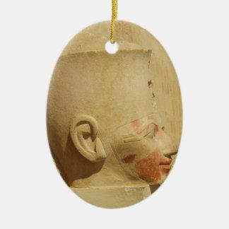 Hatshepsut  Female Pharaoh of Egypt  picture Christmas Tree Ornament