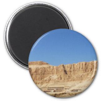 Hatshepsut Temple panoramic photograph Refrigerator Magnet