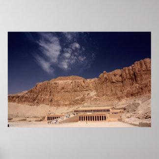 Hatshepsut's Temple Print