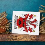 Hatt Family Crest Display Plaques