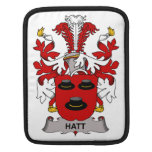 Hatt Family Crest Sleeves For iPads