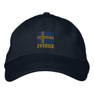 Hatt y keps - gorra sueco de Sverige de la bandera Gorras De Beisbol Bordadas