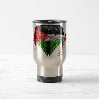 Hatta Design Palestinian Flag Travel Mug
