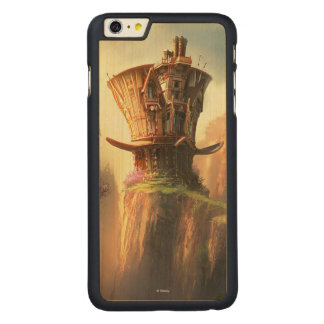 Hatter House Carved Maple iPhone 6 Plus Slim Case