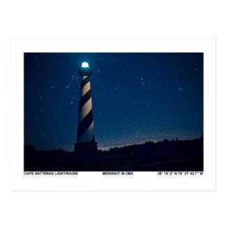 Hatteras Light. Postcard